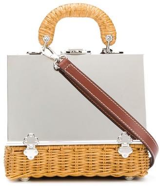 Rodo Flip-Lock Basket Tote Bag