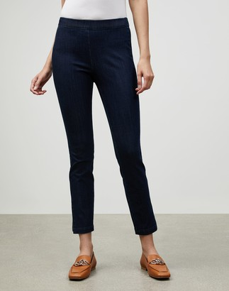 Lafayette 148 New York Plus-Size Prestige Denim Murray Skinny Jean