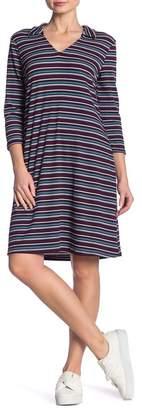 Como Vintage Polo Printed Knit Dress