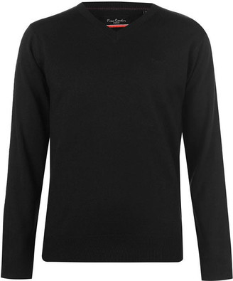 Pierre Cardin V Neck Knit Jumper Mens