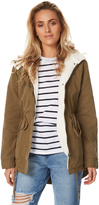 All About Eve Parka Edwards Green