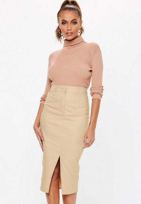 7e5fc09bb Missguided Mid Length Skirts - ShopStyle UK