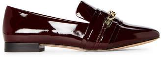 Karl Lagerfeld Paris Wine Nikki Patent Loafers