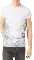 Topman Men's Floral Print T-Shirt