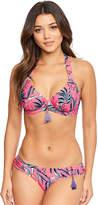 Figleaves Pattaya Underwired Non Padded Halter Bikini Top