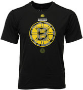 Majestic Men's Boston Bruins Solid Win Synthetic T-Shirt