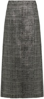 Jil Sander Bourgeois striped-jacquard pencil skirt