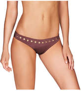 Heidi Klum Intimates Majestic Shimmer Classic Bikini With Eyelet Detail