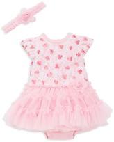 Little Me Girls' Printed Lace Tutu Dress - Baby
