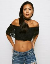 American Eagle Outfitters Don't Ask Why Flowy Crop Top