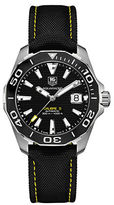 Tag Heuer WAY211A.FC636 Ceramic and Stainless Steel Sportswatch