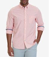 Nautica Gingham Long-Sleeve Woven Shirt