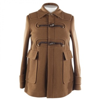 DSQUARED2 Brown Wool Coat for Women
