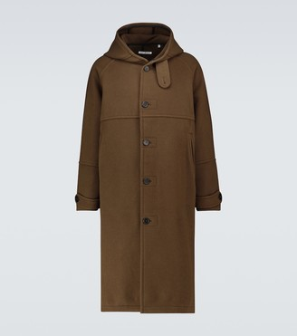 Our Legacy Wool-blend duffel coat