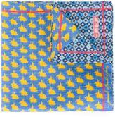 fe-fe printed pocket square - unisex - Silk - One Size
