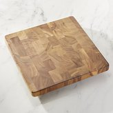 Crate & Barrel Square End Grain Cutting Board