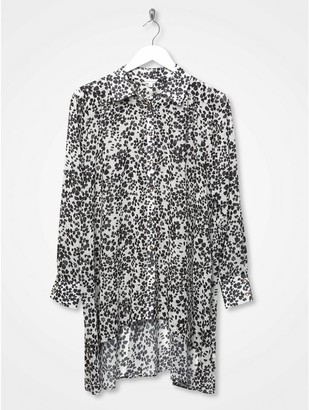 M&Co Sonder Studio floral print oversized shirt