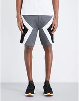 Neil Barrett Low-rise Neoprene Shorts