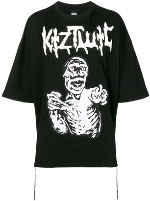 Kokon To Zai oversized graphic print T-shirt