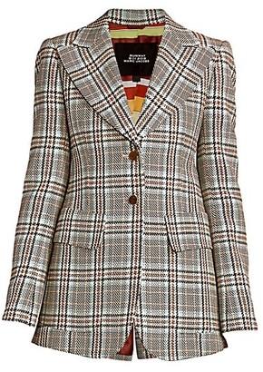Marc Jacobs Runway Long Slim Wool Blazer