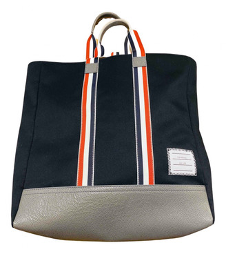 Thom Browne Navy Cloth Bags