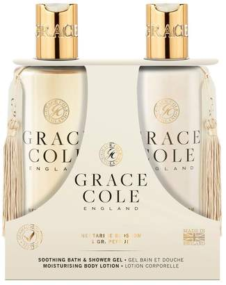Grace Cole Nectarine Blossom & Grapefruit 300ml Body Care Duo