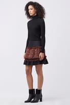 Diane von Furstenberg Keely Tweed Skirt