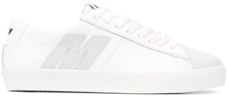MSGM M applique low-top sneakers