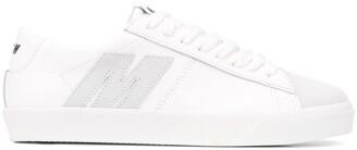 MSGM M applique low-top sneakers