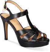 Thalia Sodi Verrda Platform Dress Sandals, Only At Macy's