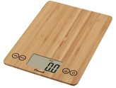 Escali Arti Digital Food Scale - 15 lb capacity - Bamboo