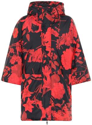 Valentino Floral puffer coat