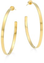 Jennifer Zeuner Jewelry Kiara Hoop Earrings