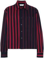 Jil Sander stripe print long sleeve shirt