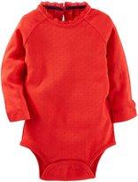 Osh Kosh Pointelle Bodysuit - Red - 18M