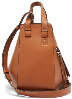 Loewe Hammock Small Leather Bag - Womens - Tan