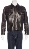 Dolce & Gabbana Leather Quilted Jacket