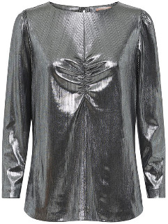 custommade Long Sleeve Sabine Blouse - polyester | 42