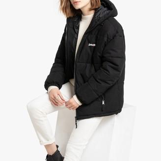 Schott Unisex Alaska Padded Puffer Jacket with Hood and Pockets