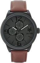 Zoo York Mens Brown Strap Watch