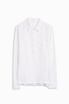 120% Lino Mix Fabric Shirt