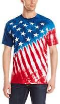 Liquid Blue Men's Stars and Stripes T-Shirt