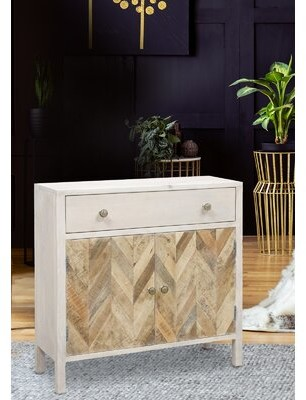 Decor+ Dido 2-door 1-drawer Cabinet