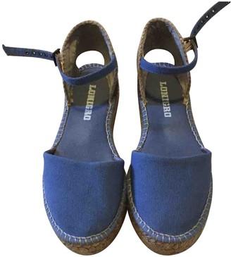 Italia Independent Blue Cloth Espadrilles