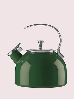 Kate Spade Dark Green Tea Kettle
