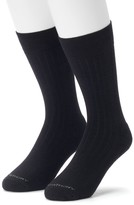Marc Anthony Men's 2-pack Ribbed Performance Crew Socks