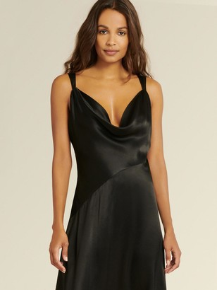 DKNY Donna Karan Women's A-line Slip Dress - Black - Size 14