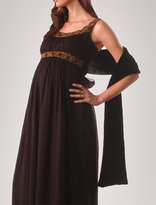 Apeainthepod Long sleeve charmeuse trim maternity shrug