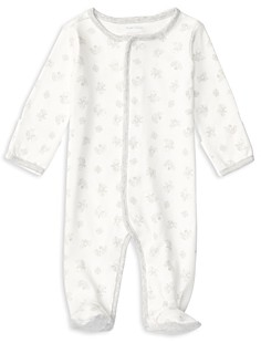 Ralph Lauren Unisex Animal & Block Print Footie - Baby