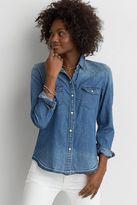 American Eagle Outfitters AE Slim Denim Shirt